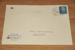 94-   BEDRIJFSKAART, COOP. MELKPRODUCTENBEDRIJF  D.O.M.O. - BEILEN - 1950 - Kaarten