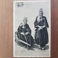 Pont-l'Abbé.dessin De Homualk.coiffe Costume Breton.format 9 × 14 Cm.édition Gaby - Pont L'Abbe