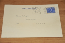 56-   DRUKWERK, J.A.M. BURGMAN & ZN. N.V. - UTRECHT - 1952 - Kaarten