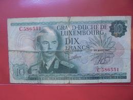 LUXEMBOURG 10 FRANCS 1967  CIRCULER - Luxemburg