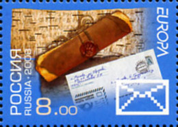 Ref. 216508 * NEW *  - RUSSIA . 2008. EUROPA CEPT. 2008 LETTERS. EUROPA CEPT 2008 CARTAS - 1992-.... Federación