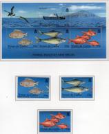 2002 - TRISTAN DA CUNHA - Yv.  Nr. 709/711 + BF 39 - (UP131.18) - Tristan Da Cunha
