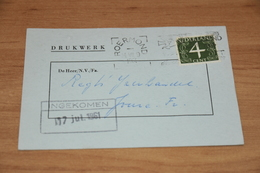 9-   DRUKWERK, H. CILLEKENS, AGENTUREN - ROERMOND - 1961 - Andere