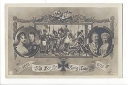 21761 - Allemagne Mit Gott Für König Und Vaterland 1813-1913 - Familles Royales
