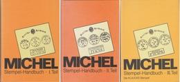 Stempel-handbuch Catalogues Michel  En 3 Tomes Parfait état - Duitsland