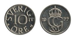 Sweden / 1977 / 10 Ore / Km: 850 / XF - Suède