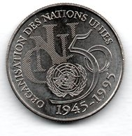 ONU  -  5 Francs 1995  -  état  SUP - J. 5 Francos
