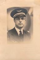 Photo Militaire : Portrait De Soldat - Aviation ( Format 14cm X 9,2cm ) Taly Romans - Drome - Krieg, Militär