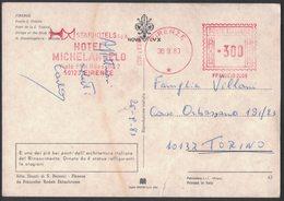 AP13  Italia,Italy Red Meter / Freistempel / EMA 1983 Firenze, Hotel Michelangelo - Affrancature Meccaniche Rosse (EMA)
