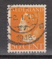 NVPH Nederland Netherlands Pays Bas Niederlande Holanda 344 Used ; Koningin, Queen, Reine, Reina Wilhelmina 1931 - Periode 1891-1948 (Wilhelmina)