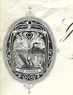 """Lettre 1910 / Autriche WIEN / Agent Commercial De Vienne / Devise """"L'argent Est 'âme Du Métier"""" ??? - Autriche"""