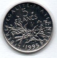 -  5 Francs 1995  -  état  FDC - France