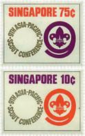 Ref. 38440 * NEW *  - SINGAPORE . 1974. 9th SCOUT CONFERENCE IN ASIA. 9 CONFERENCIA DE ESCULTISMO EN ASIA - Singapur (1959-...)