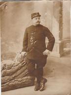 Photo Militaire : Soldat En Pose : 15é Régt. - S A  ( Format 12,2cm X 9cm ) - War, Military