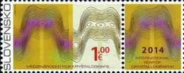 Ref. 311992 * NEW *  - SLOVAKIA . 2014. DIA DE LA FISICA - Eslovaquia