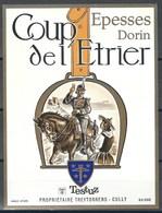 Etiquette De Vin Du Canton De Vaud  * Epesses - Coup De L'Etrier  * - Etiquettes