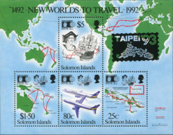 Ref. 154808 * NEW *  - SOLOMON Islands . 1993. TAIPEI 93. INTERNATIONAL PHILATELIC EXHIBITION . TAIPEI 93. EXPOSICION FI - Salomoninseln (Salomonen 1978-...)