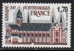 FRANCE : N° 2002 ** (Abbaye De Fontevraud) - PRIX FIXE - - Francia