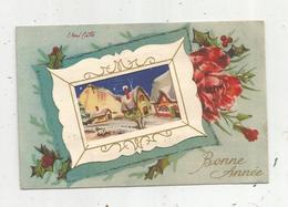 Cp , Illustrateur , Signée E. René Caillé ,  BONNE ANNEE , écrite 1948 , Serie N° 303 - Otros Ilustradores