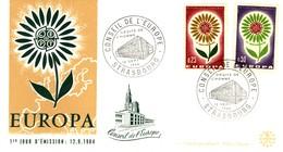 *1964 - FRANCIA - EUROPA BUSTA FDC. - FDC
