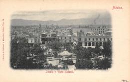R128371 Mexico. Zocalo Y Vista General. Ruhland Y Ahlschier. B. Hopkins - Mondo