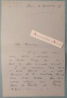 L.A.S Robert COULOM Homme De Théâtre - Pseudo Robert Viella - Théâtre - Lettre Autographe LAS - Autographes