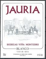 Etiquette De Vin D' Espagne  * Jauria  * - Etiquettes