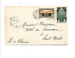 AFFRANCHISSEMENT COMPOSE SUR LETTRE DE NANCY 1925 - Marcophilie (Lettres)