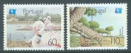PORTUGAL - 1991 - MNH/*** LUXE - FLAMANTS CAMELEON  -  Mi 1859-1860 Yv 1833-1834 - Lot 19419 - 1910-... République