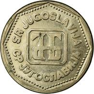 Monnaie, Yougoslavie, 5 Dinara, 1993, TTB, Copper-Nickel-Zinc, KM:156 - Joegoslavië