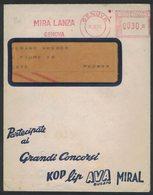 AP16   Italia,Italy Red Meter / Freistempel / Ema Genova 1960  Mira Lanza - Affrancature Meccaniche Rosse (EMA)
