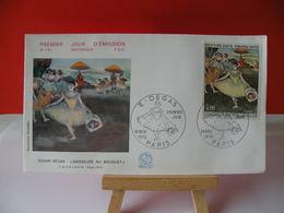 Égard Degas,la Danseuse Au Bouquet - Paris - 14.10.1970 FDC 1er Jour - Toutes,très Bon état Garantie - FDC