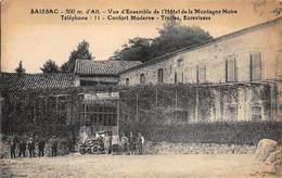 SAISSAC : Vue D'ensemble De L'hotel De La Montagne Noire - Etat - France