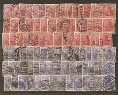 Allemagne Reich - Germania 10 Pf, 20 Pf - Petit Lot De 100° (2 X 50) - Vrac (max 999 Timbres)