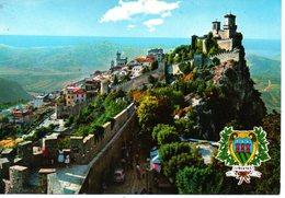 BELLISSIMA CARTOLINA SAN MARINO E803 - San Marino