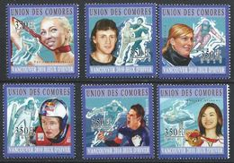 Comores YT 2011-2016 XX / MNH Jeux Olympiques Vancouver Sport Arakawa Ski Patinage - Comores (1975-...)