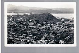 PANAMA  Balboa Canal Zone  Ca 1930 OLD  PHOTO POSTCARD - Panama