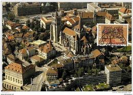 """59 - 8 - Carte Avec Timbre Et Oblit Spéciale De Lausanne """"450 Ans De L'université 1987"""" - Marcophilie"""