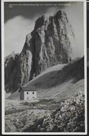 DOLOMITI  -  RIFUGIO ANTERMOIA - CRODA DEL LAGO - FORMATO PICCOLO - FOTO GHEDINA - NUOVA - Alpinisme