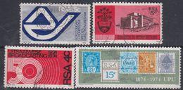 Afrique Du Sud N° 355 / 58 O  Les 4 Valeurs Oblitérations Légères à Moyennes Sinon TB - Afrique Du Sud (1961-...)