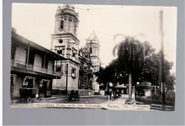 PANAMA  Cathedral Plaza Panama City Ca 1930 OLD  PHOTO POSTCARD - Panama