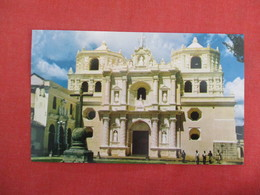 > Guatemala La Merced Church      Ref 3273 - Guatemala