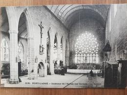 Pont-l'Abbé.intérieur De L'église Des Carmes.édition Villard 3130 - Pont L'Abbe