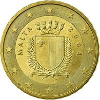 Malte, 10 Euro Cent, 2008, TTB, Laiton, KM:128 - Malta