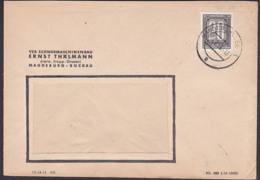 """ZKD-Brief B3 Magdeburg Buckau Schwermaschinenbau """"Ernst Thaämann"""" Vormals Krupp-Gruson, Germany - [6] Oost-Duitsland"""