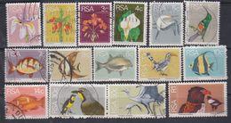Afrique Du Sud N° 359 / 74 X, O   La Série Courante Incomplète (manque 371) Les 15 Vals Oblitérées Ou Trace Ch. Sinon TB - Afrique Du Sud (1961-...)