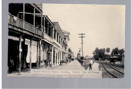 PANAMA  Front Street Colon Ca 1930 OLD  PHOTO POSTCARD - Panama