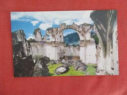 Guatemala Ruins Of The Recoleccion Convent   Ref 3273 - Guatemala
