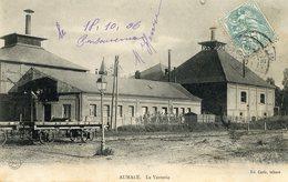 Cpa Aumale (76) La Verrerie - Aumale