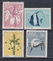 Afrique Du Sud N° 375 / 78 XX  Série Courante Timbres émis En Roulette Les 4 Valeurs Sans Charnière, TB - Afrique Du Sud (1961-...)